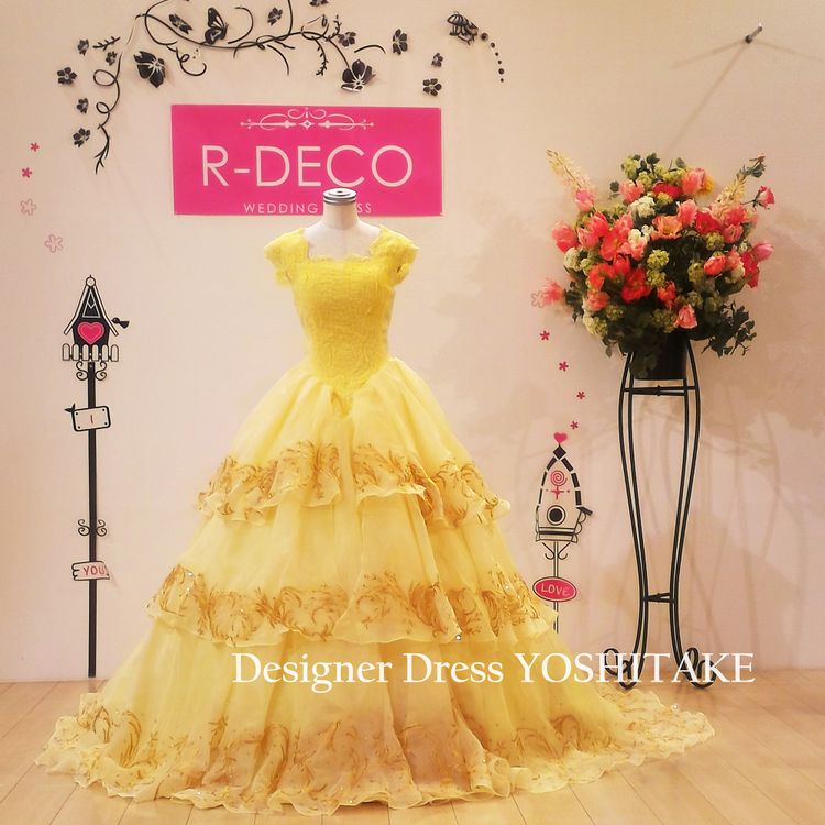 WEDDING DRESS R-DECO(ウエディングドレス アールデコ)
