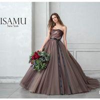 イサムモリタ新作ドレスのご紹介   IN-56