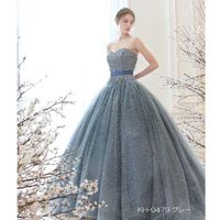 新作ドレスのご紹介 KH-0479 グレー