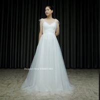 キャミソールタイプのスレンダー白ドレスを作りました。