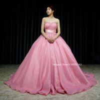 くすんだピンクのドレスを作りました。