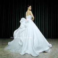 白いプリンセスドレス作りました。