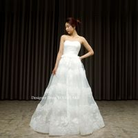 白ドレスを作りました。