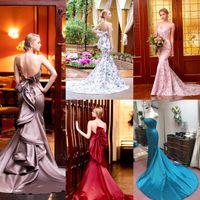 ◇お好きなお色でカラーのマーメイドドレス!