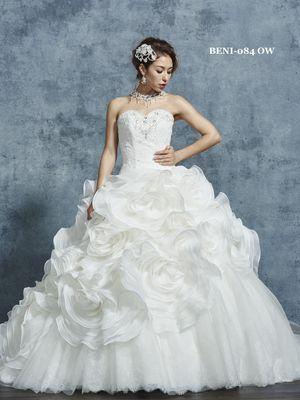 2c4dfd2aa3aa2 ウェディングドレス・カラードレス一覧|Rouge de BENI (ルージュ・ド・ベニ)|ウェディングドレスの口コミサイト ウエディングパークドレス