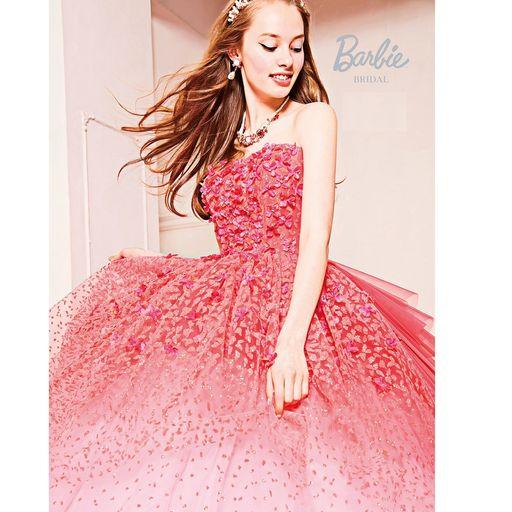 Barbie BRIDAL ピンク新作カラードレス