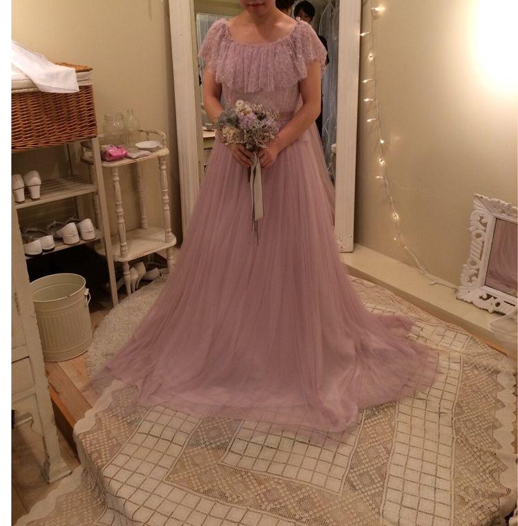 メゾンスズのカラードレス