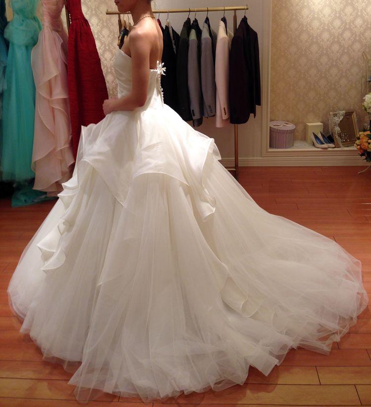 一番テンションの上がったドレス
