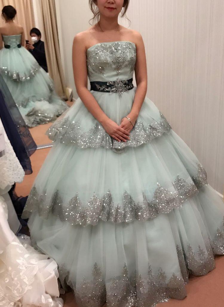 ディズニープリンセスみたいなドレス探し♡