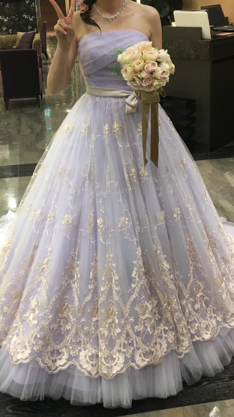 ラプンツェルカラードレス