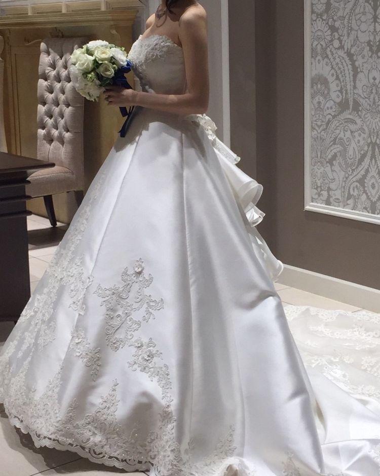 王道!なAラインのドレス