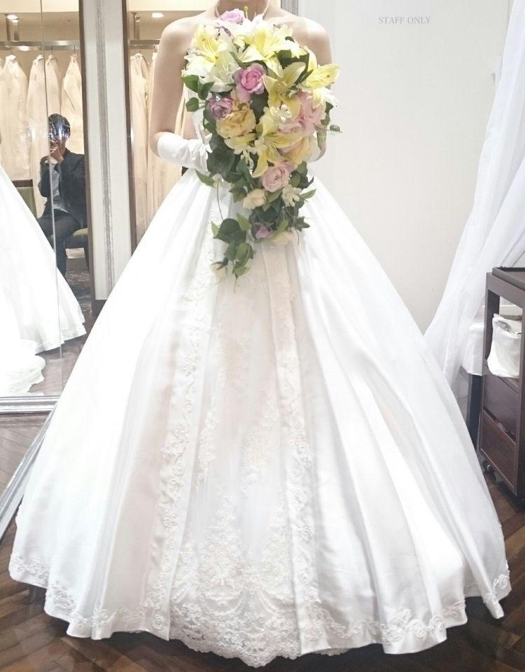 ホテルオリジナルのラプンツェルがテーマのドレス