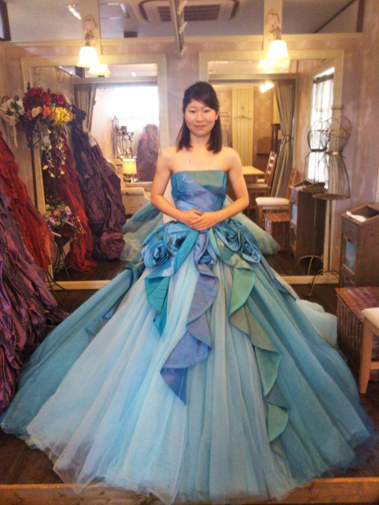 誰もが憧れる可愛さ!フワフワなドレス