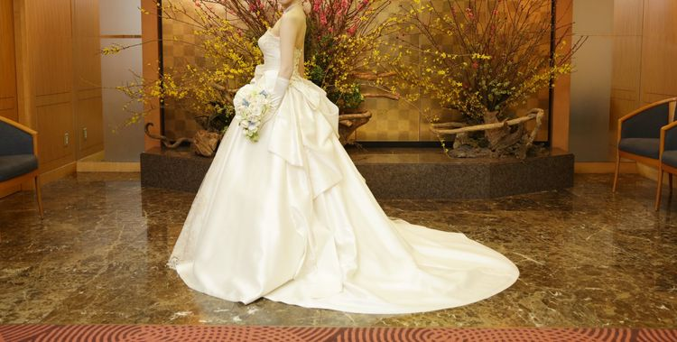 貴族感が満載なドレス