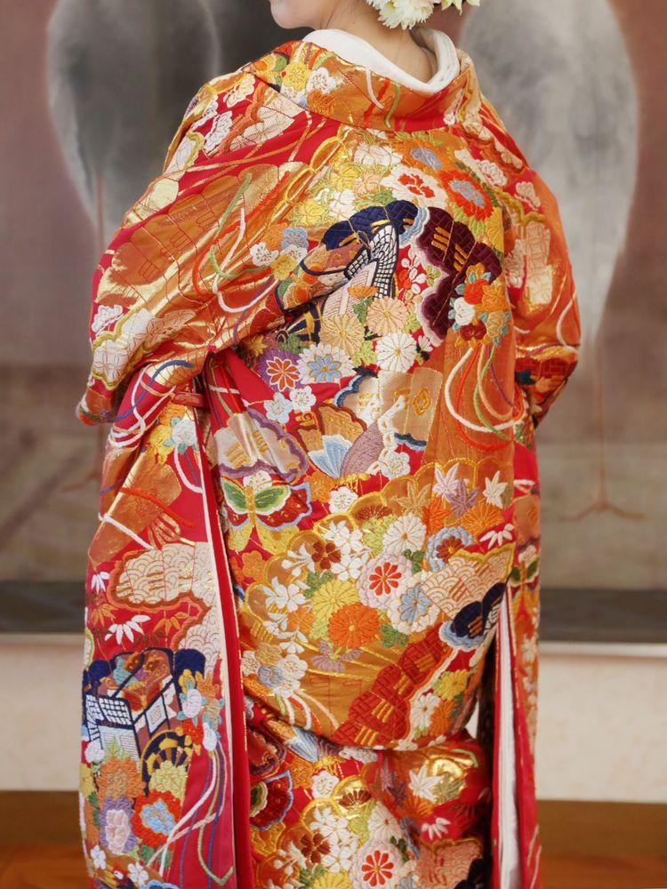 東京大神宮で1番グレードが高い色打掛