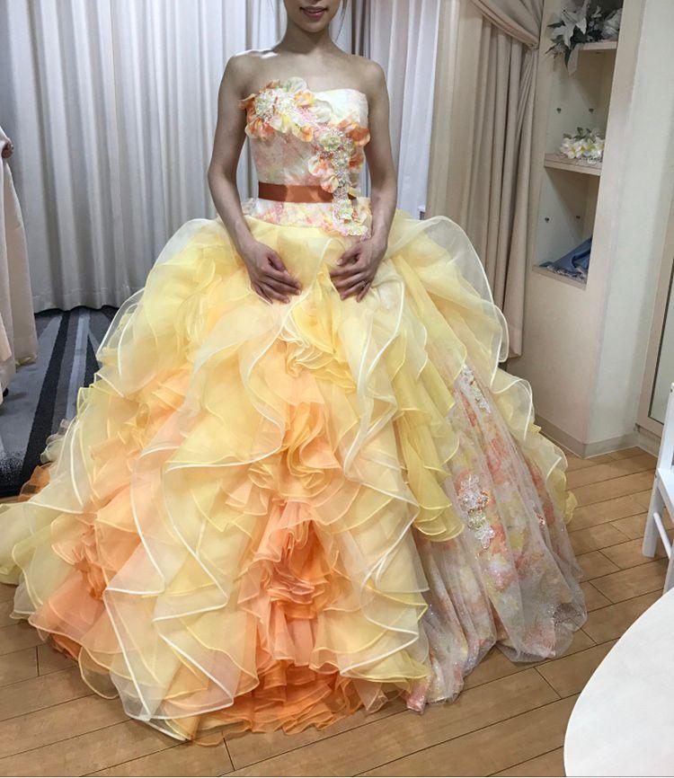 佐々木希デザインドレス