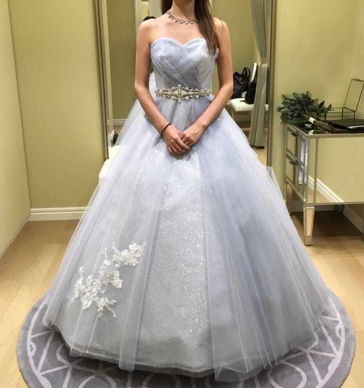 冬婚にぴったり!キラキラグレードレス