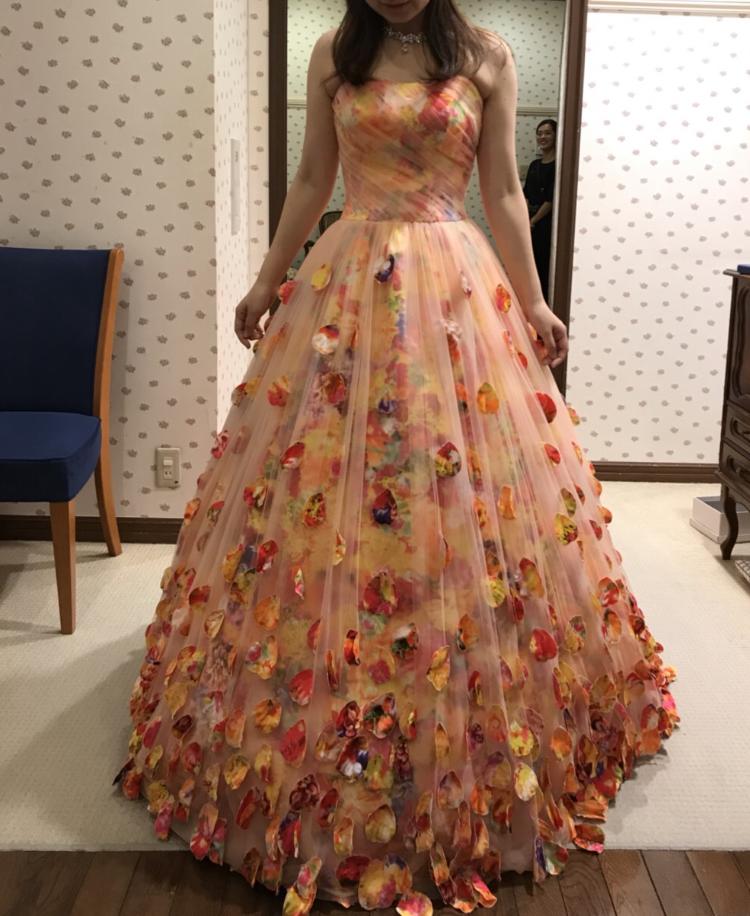 蜷川実花さんプロデュースのカラードレス