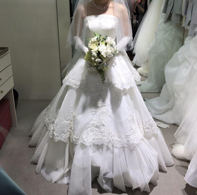写真映え抜群のドレス