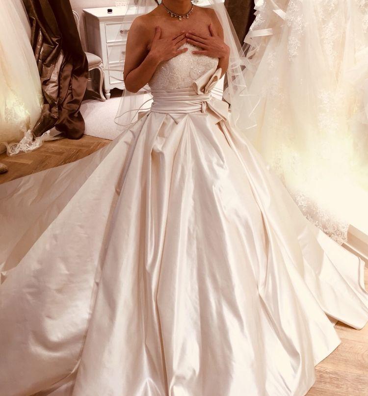 クラシカルながらも可愛さのあるドレス