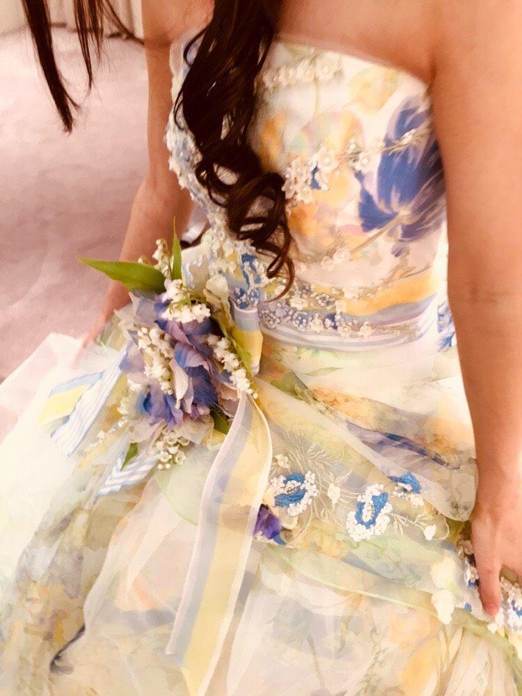 春らしい爽やかで可愛いドレス!