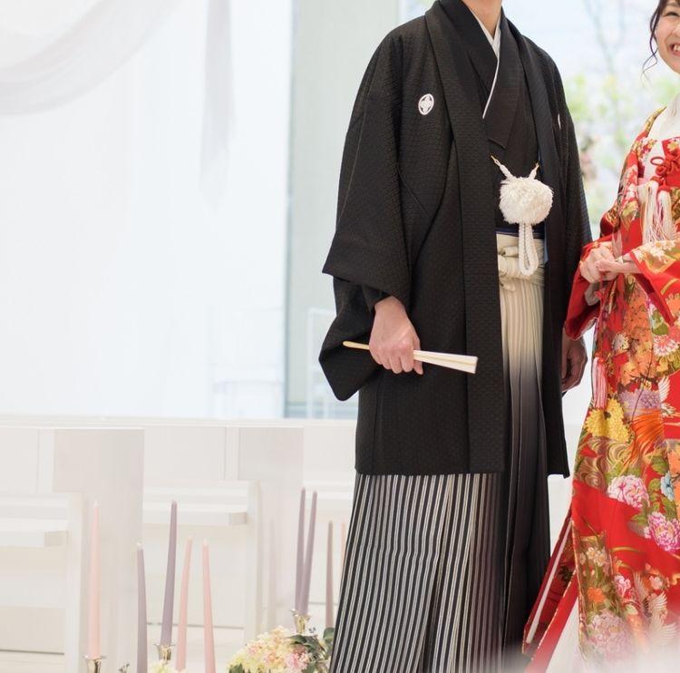 和装定番の紋付袴