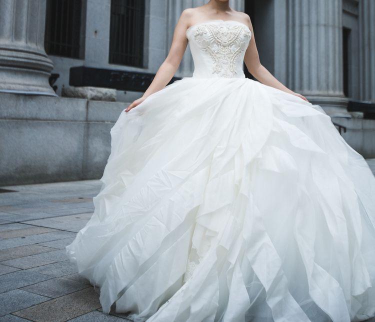 本当に本当に幸せな気持ちに包まれるドレス