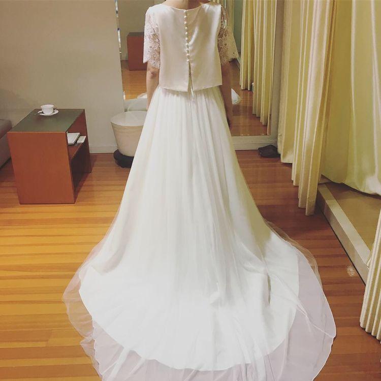 アトリエナエのセパレートドレス
