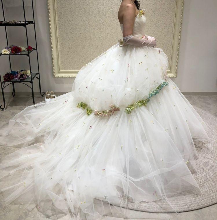 かすみ草ドレス KIYOKO HATA×marry