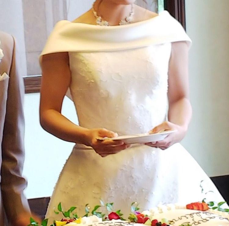 シンプルでとても素敵なドレス