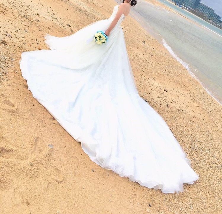 ビーチ用撮影にぴったりなドレス