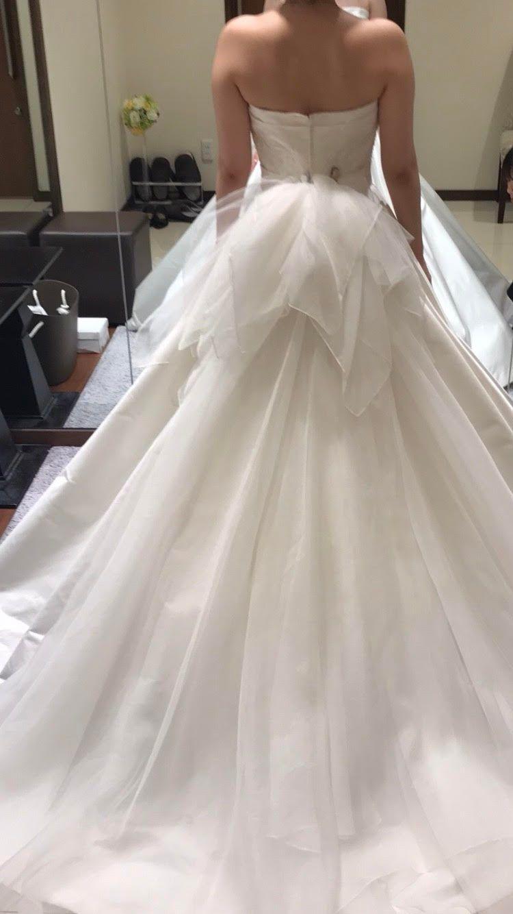 当日のウエディングドレス