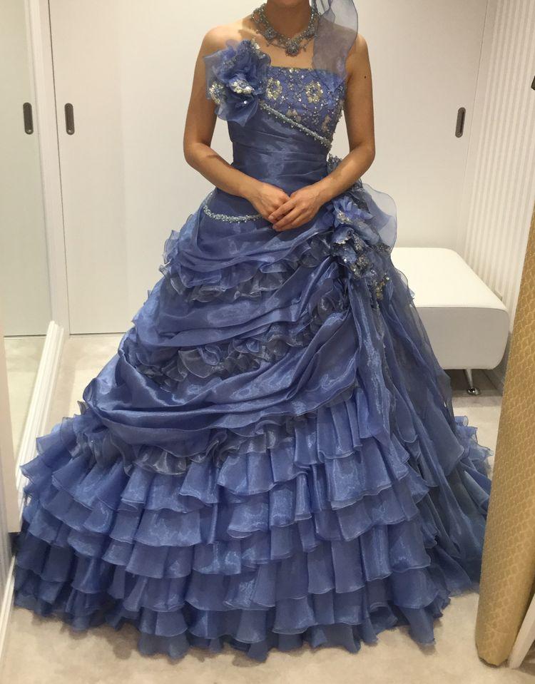 とても華やかさのあるドレス