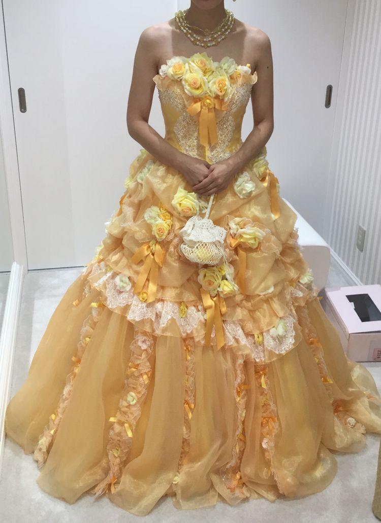とってもかわいい雰囲気のドレス