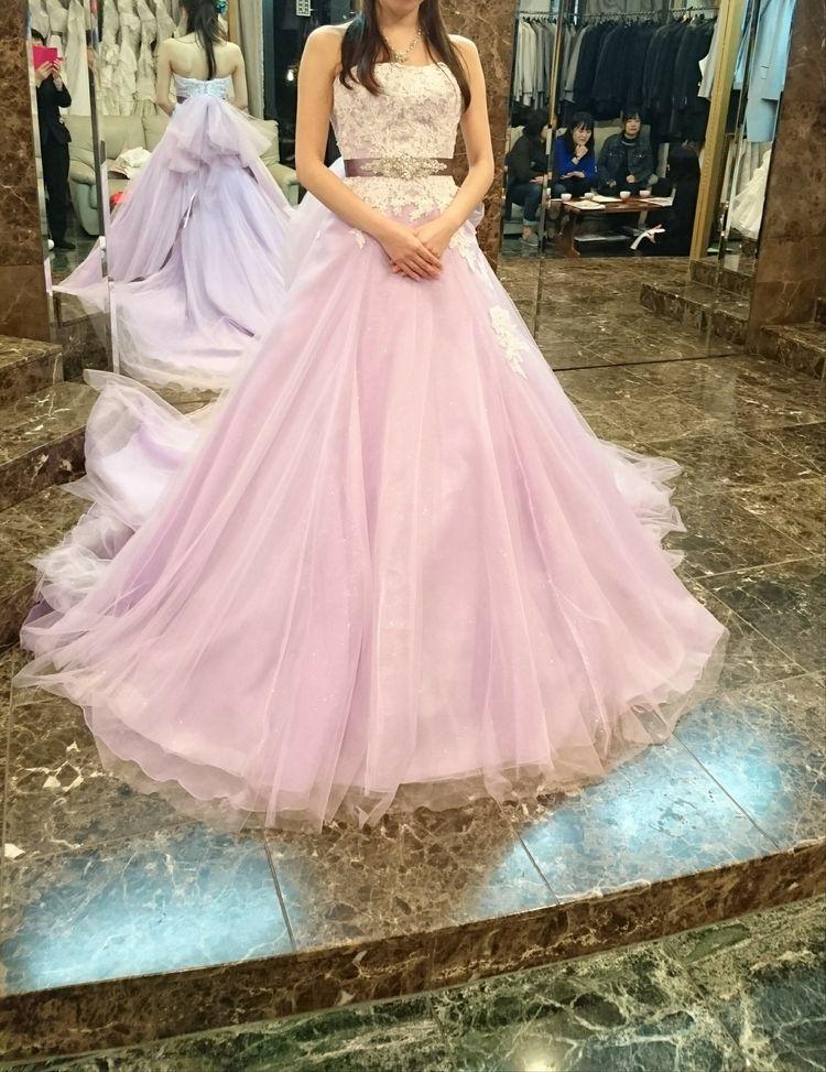 ふわふわの2wayドレス