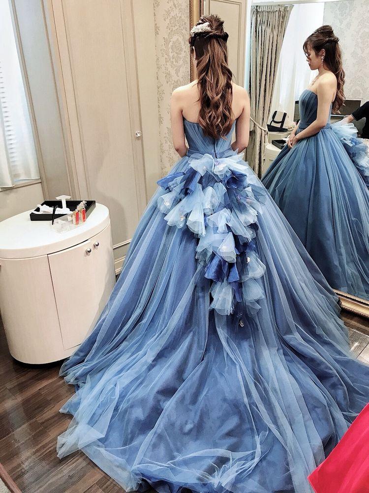 シンプルだけどそこがまた可愛いドレス