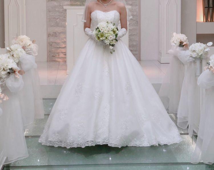 花嫁さんの王道!プリンセスドレス