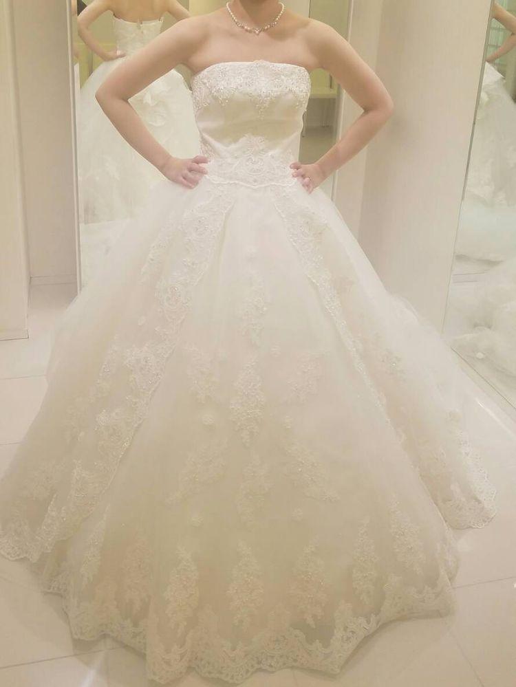 ディズニープリンセスの様なドレス