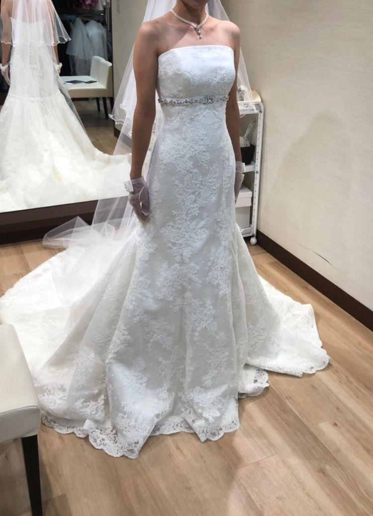 ソフトマーメイドドレス
