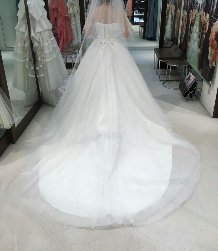 つけ襟で、雰囲気がいっぺんするドレス
