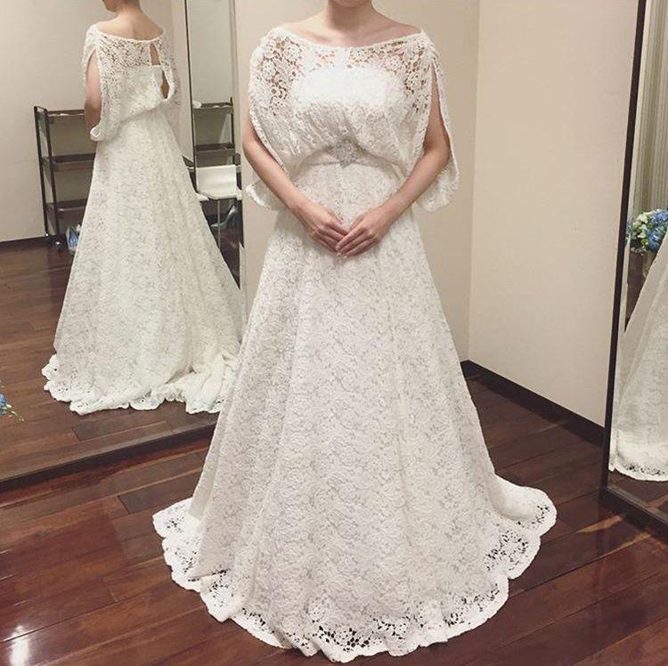 カジュアルな洋服っぽいドレス