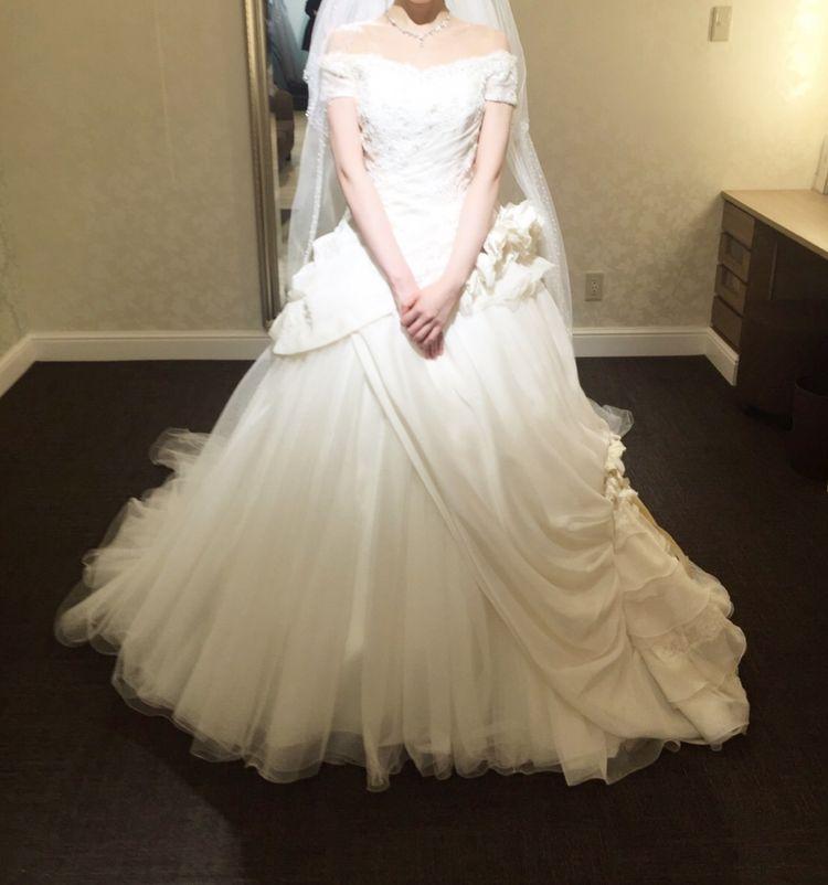 袖付きプリンセスドレス