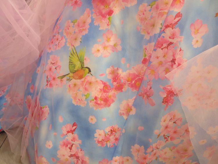 marryドレス☆桜ドレス
