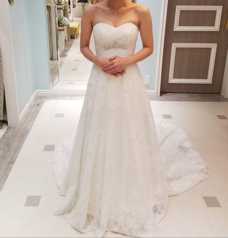 スタイル良く見えるドレス