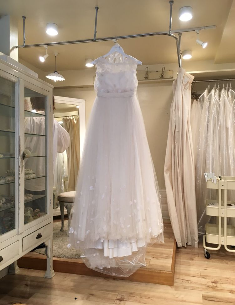 花びらのドレス