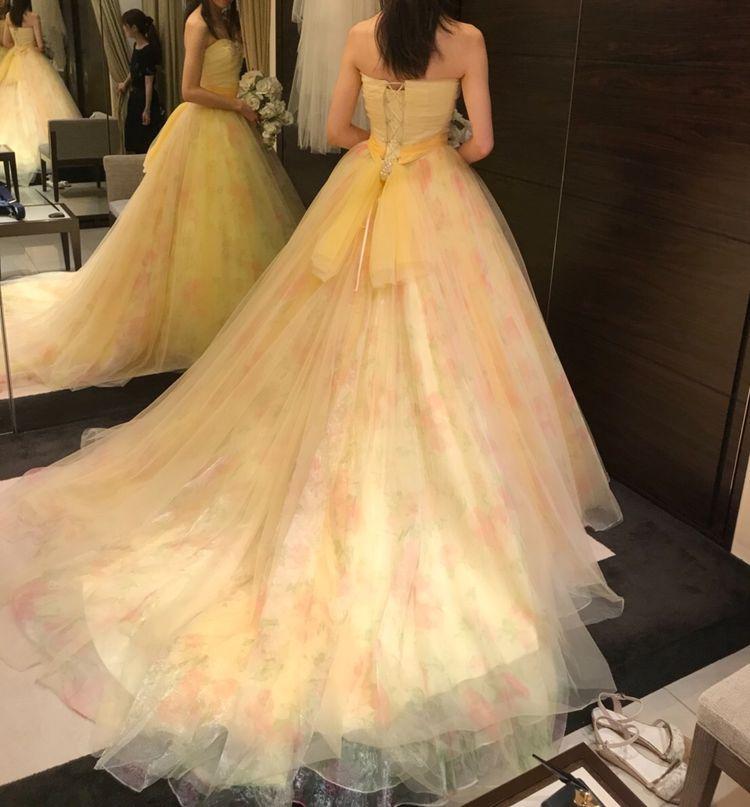 美女と野獣に出てきそうなドレス