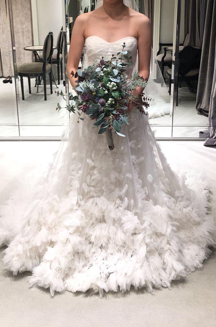 冬婚に合いそうなドレス