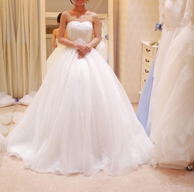 結婚式で使用したドレス