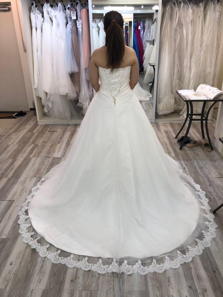 王道ドレスに可愛らしさ