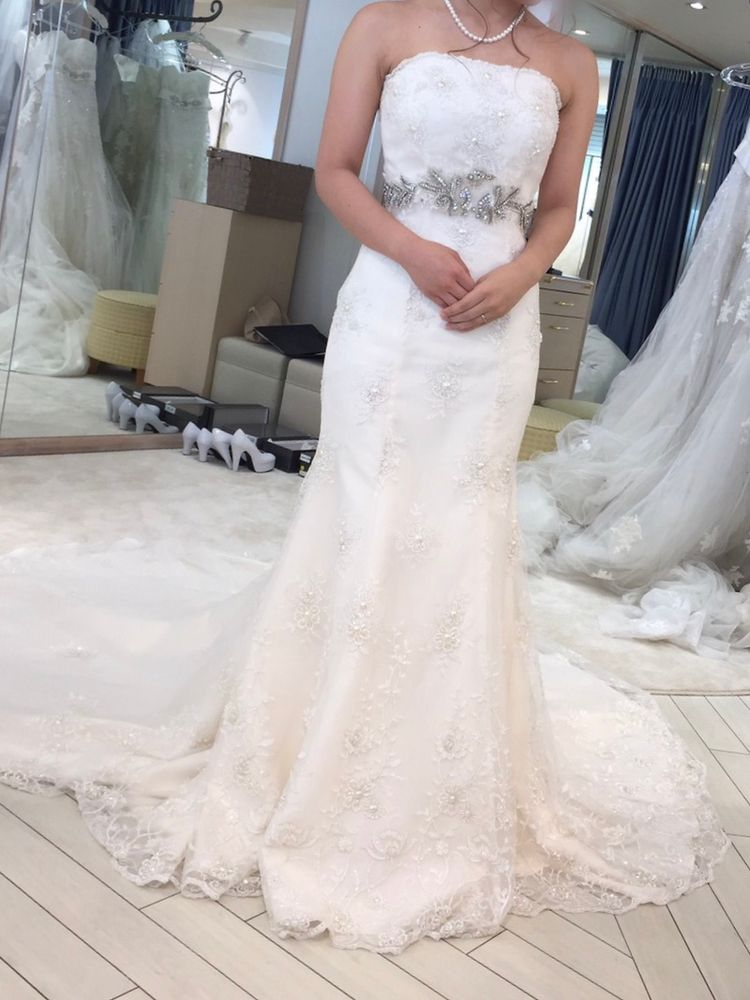 憧れのマーメイドドレス